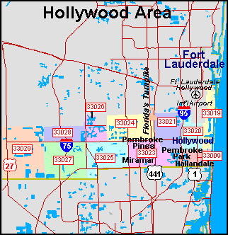 Broward County Zip Codes Maps Epro